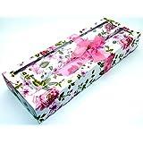 parfumée parfumée parfumée Dessinez Sacs–Rose Lot de 8feuilles–Motif floral 42x 28.5cm
