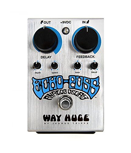 Way Huge Echo Puss · Pedal guitarra eléctrica