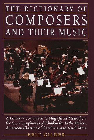 Dictionary of Composers and Their Music -