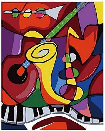 YKCKSD Puzzle Adulte 1000 Pièces Pièces Pièces Son De La Musique Abstrait Paysage Bricolage Moderne Mur Art Cadeau Unique Décor À La Maison   Design Attrayant  57bbbd