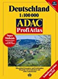 ADAC Profi Atlas Deutschland: 1:100000 -