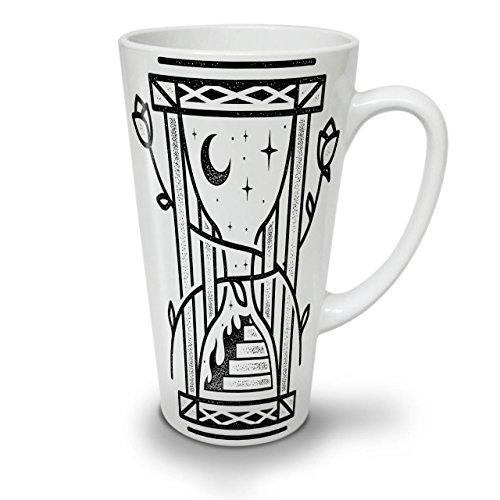 Sand Uhr Nacht Mode WeißTee KaffeKeramik Kaffeebecher 17 | (Rund Die Kostüme Uhr Um Rock)
