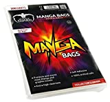 Ultimate Guard UGD020011 - Manga Bags, wiederverschließbar, 100 Stück