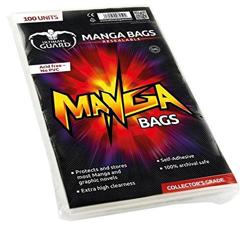 Ultimate Guard Lot de 100Sacs refermables pour Mangas