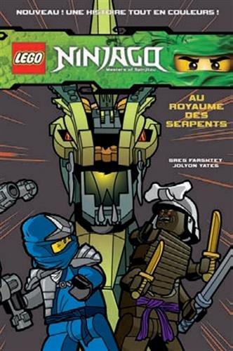 LEGO NINJAGO BD 3 AU ROYAUME DES SERPENT...