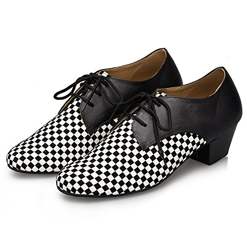 Miyoopark , Salle de bal homme Black/White-4.5cm heel