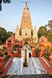 Mahabodhy Temple in Bodhgaya India Journal: Lined Notebook/Diary