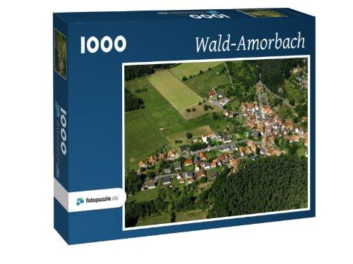 Wald-Amorbach - Puzzle 1000 Teile mit Bild von oben