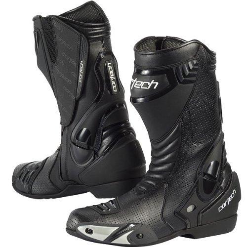 Preisvergleich Produktbild Cortech Latigo Air Men's Street Bike Motorcycle Boots - Black/Black / Size 12 by Cortech