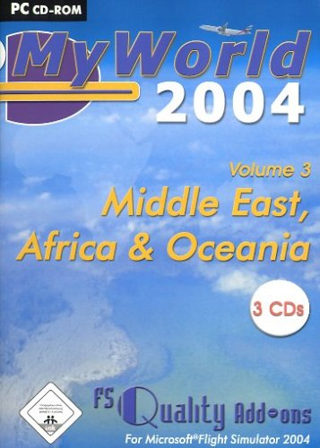 NBG EDV Handels & Verlags GmbH Flight Simulator 2004 - My World 3 Afrika Mesh