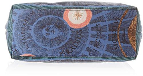 Tracolla Borsa Gardner Lady Gattinoni, 13x27x30 Centimetri Multicolore (sky)