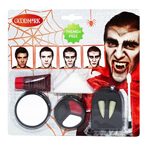 Goodmark Vampire Lot de 2 packs de 5 accessoires de maquillage