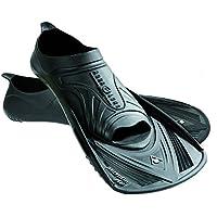 Aqua Sphere Micro HP - Aletas de entrenamiento para natación, color negro, talla Size 38 - 39