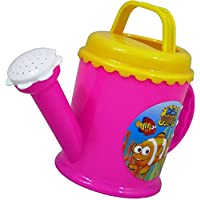 CONCEPT4U® Plastic Watering Can Hello Fishy PINK Beach Sand Water Bath Kids Children Gift Plastic Toys Garden Plants Tools Fun Play Sandpit Fish Flower