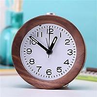 LLSJZ Silencio creativo reloj alarma de madera moderna digital despertador  con snooze 18d60813838