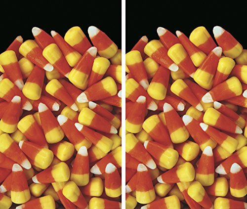 WOWindow Posters Candy Corn Galore Halloween Window Decoration Set of Two 34.5x60 Backlit Posters by WOWindow Posters (Wowindows Poster Halloween)
