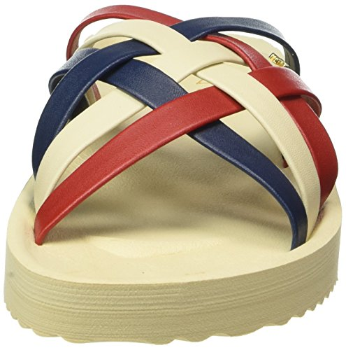 Flip * Flop Ladies Heaven Open Sandali Multicolore (sombrero 858)