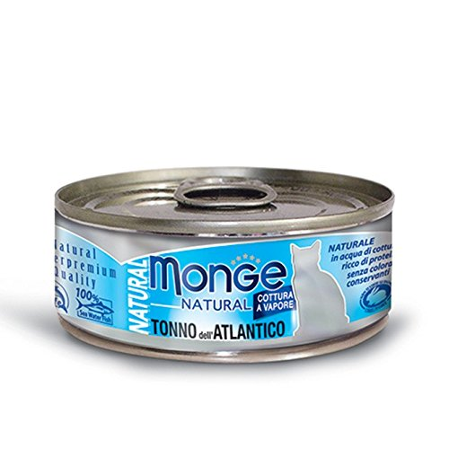 Monge Naturale Tonno Atlantico, 80 g 1 Lattina