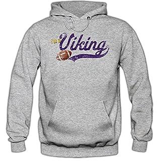 I'm a Viking #1 Premiumhoodie Herren Football Hoodies Super Bowl Play Offs Kapuzenpullover, Farbe:Schwarz;Größe:S