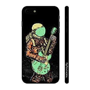 Enthopia Designer Hardshell Case Astronaut Guitar Back Cover for Apple Iphone 7