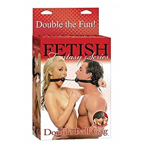 Pipe Dream Fetish Fantasy Series Double Ball Gag