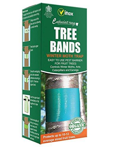Vitax Lot de 2 anneaux pour troncs d'arbres destinés à la lutte antiparasitaire