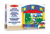 Melissa & Doug Tabletop Puppet Theatre - Sturdy Wooden Construction