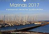 Marinas 2017. Impressionen deutscher Sportboothäfen (Wandkalender 2017 DIN A4 quer): Faszination Yacht- und Sportboothäfen (Monatskalender, 14 Seiten) (CALVENDO Sport)