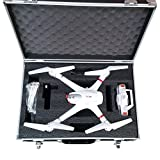 Idea S 01623valigetta in alluminio per den Quadrocopter Drone MJX X101drone valigia valigetta con angeschraubten rotori in den valigetta da viaggio