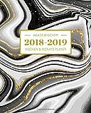 2018-2019 Akademischer Wochen- und Monatsplaner: Anja Design Terminkalender Organizer, Studienplaner und Notizbuch mit inspirierenden Zitaten  August ... Juli 2019, Wochenplaner (Planer Organizer)