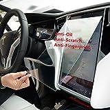 teslahome Auto gehärtetem Glas 9H kratzfest und stoßfest Touch Displayschutzfolie für TESLA For Tesla Model S/X