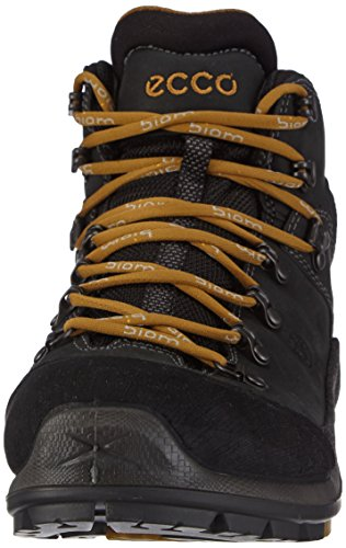 Ecco Biom Terrain Black/Dark C/Meadow C/AY/De, Scarpe stringate uomo Marrone (58654black/black/dried Tobacco)