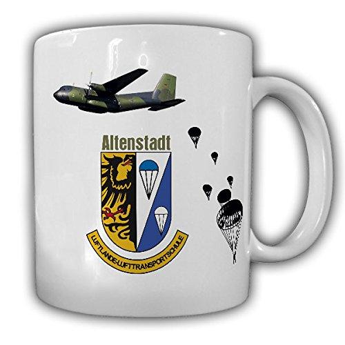 LL-LTS_Luftlande- und Lufttransportschule Altenstadt Bundeswehr Schule Fallschirmjäger Ausbildung Transall Springer - Tasse Kaffee Becher #14345