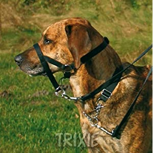 Trixie Top Trainer Training Harness, 46 cm, Black