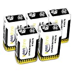 Keenstone CR123A 3V 1400mAh Batteries 18 Pack Lithium Non-Rechargeable High Performance Primary Batteries from keenstone