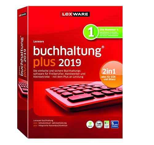 Lexware buchhaltung 2019|plus-Version in frustfreier Verpackung (Jahreslizenz)|Einfache Buchhaltungs-Software für Freiberufler, Handwerker und Vereine|Kompatibel mit Windows 7 oder aktueller