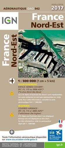 Oaci942 France Nord-Est 2017 1/500.000