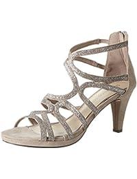 Marco Tozzi Damen 28373 Offene Sandalen mit Keilabsatz