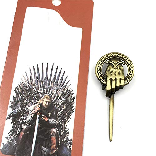 Broche la main du roi Game of Thrones