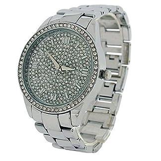 Eton señoras reloj de Dial de diamantes de, caso y, bajo sin níquel 3249j-ch