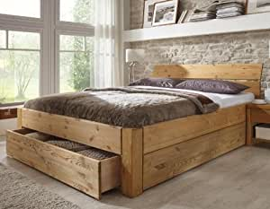 stilbetten bett holzbetten massivholzbett tarija mit. Black Bedroom Furniture Sets. Home Design Ideas