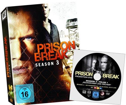 Prison Break Season 3 mit Bonus Disc Season 4 Folge 1 - Rückkehrer und Rächer (exklusiv bei Amazon.de)