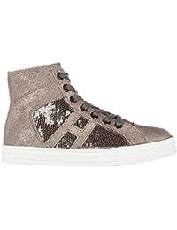 Hogan Rebel Sneakers Alte Bambino Argilla - palude c0e3683ddc8