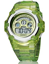 XKC-watches Relojes para Hombres, Reloj electrónico Impermeable para Hombre de Deportes al Aire