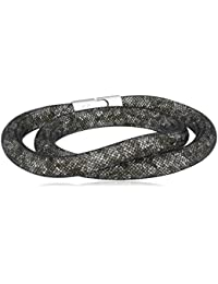 Swarovski Damen-Armband Metalllegierung Glas grau 510009_1