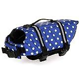 REXSONN Schwimmhilfe für Hunde Hunde-Schwimmweste Hund Hundeweste Wassersport Schwimmweste Warnweste Rettungsweste Float Coat Hundeschwimmweste Dog Life Jacket