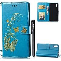 179a2c9f58b BtDuck - Funda para Xperia XZ y Sony XZZ®, con cierre magnético, diseño