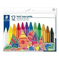 Staedtler 226 NC12 Noris Club Super Jumbo Wax Crayon (Pack of 12)