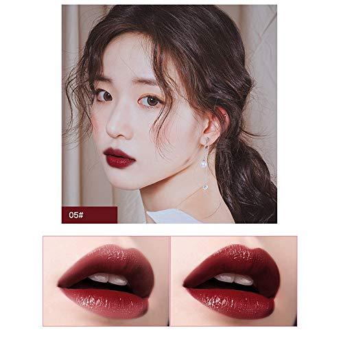 friendGG 6 Farben Makeup Bright Feuchtigkeitsspendender Lipgloss Lippenstift Langanhaltender...