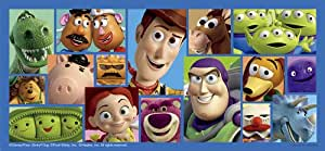 Petit Jigsaw Puzzle 300 Piece Long Disney Toy Story Collection 43-33 (japan import)